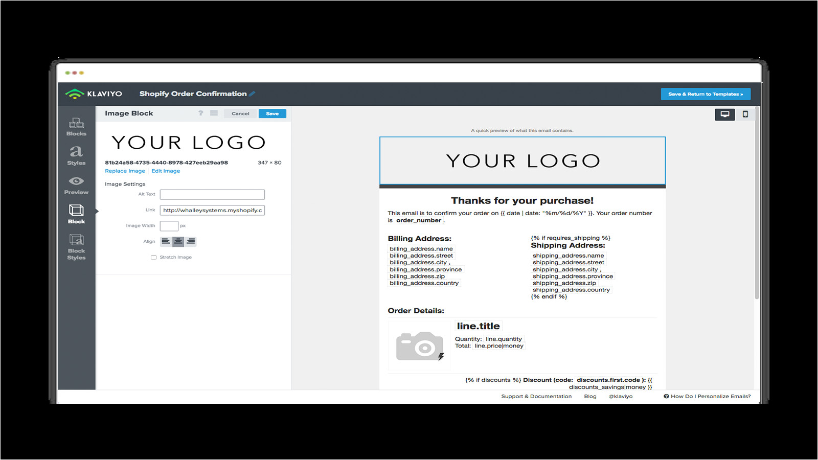 email template creator