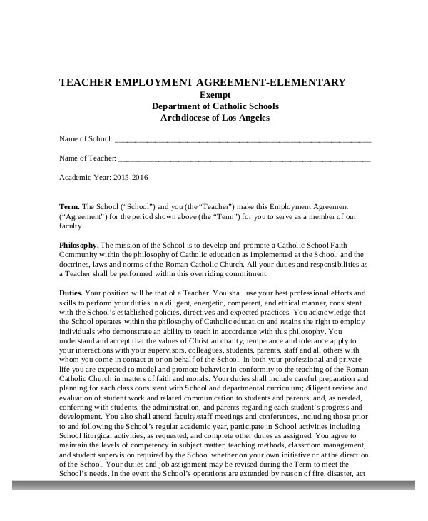 sample contract for sex educator