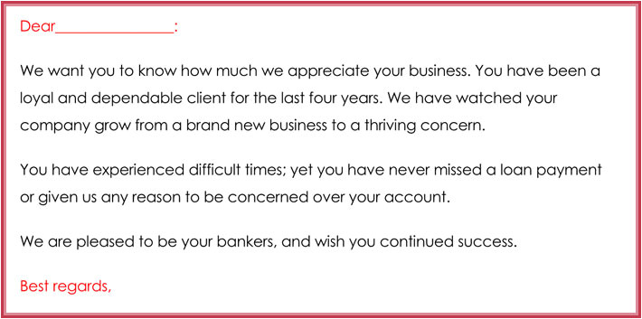 customer thank you email