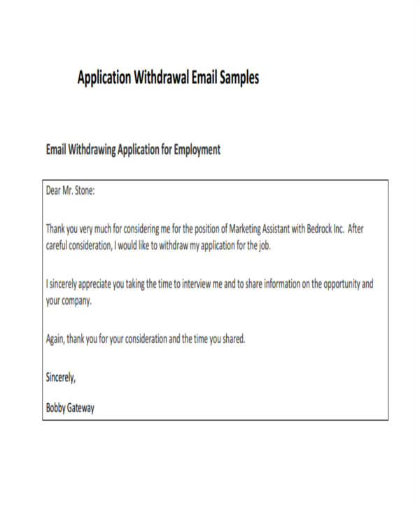 email examples in pdf