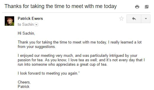 Thank You for Meeting with Me Email Template How to Write A Great Follow Up Email after A Meeting