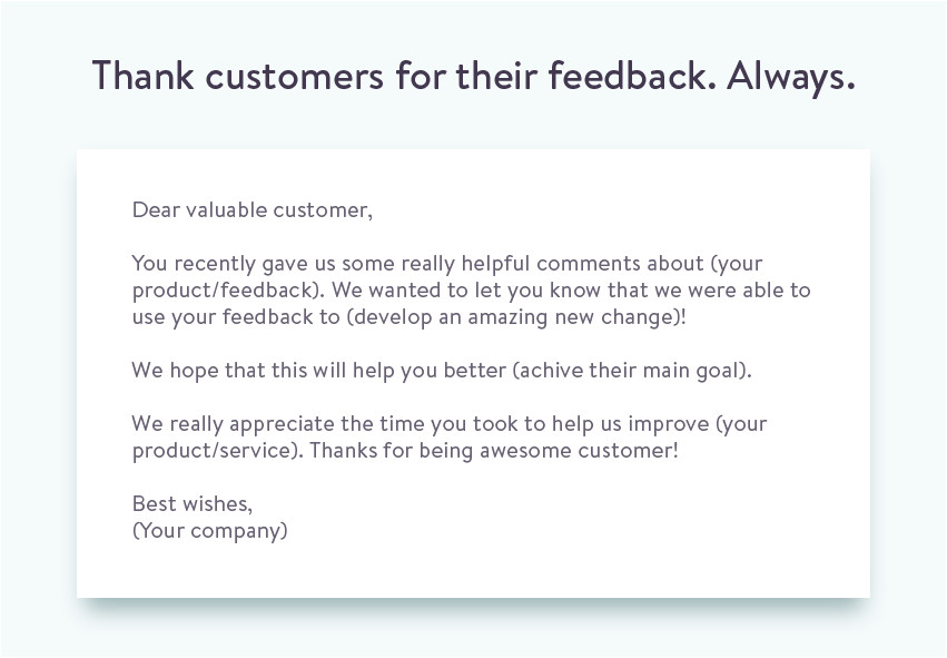 Thank You for Your Feedback Email Template the Proper Way to ask for Customer Feedback