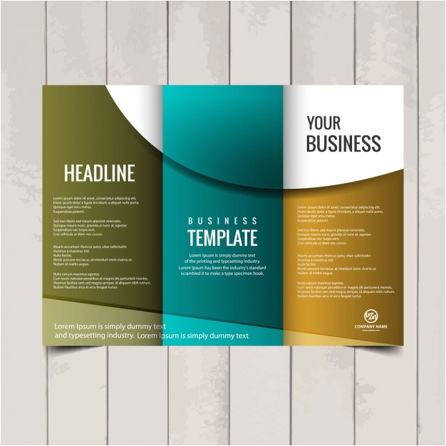 tri fold brochure template 845198