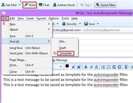 6 steps to set up autoresponder emails in mozilla thunderbird