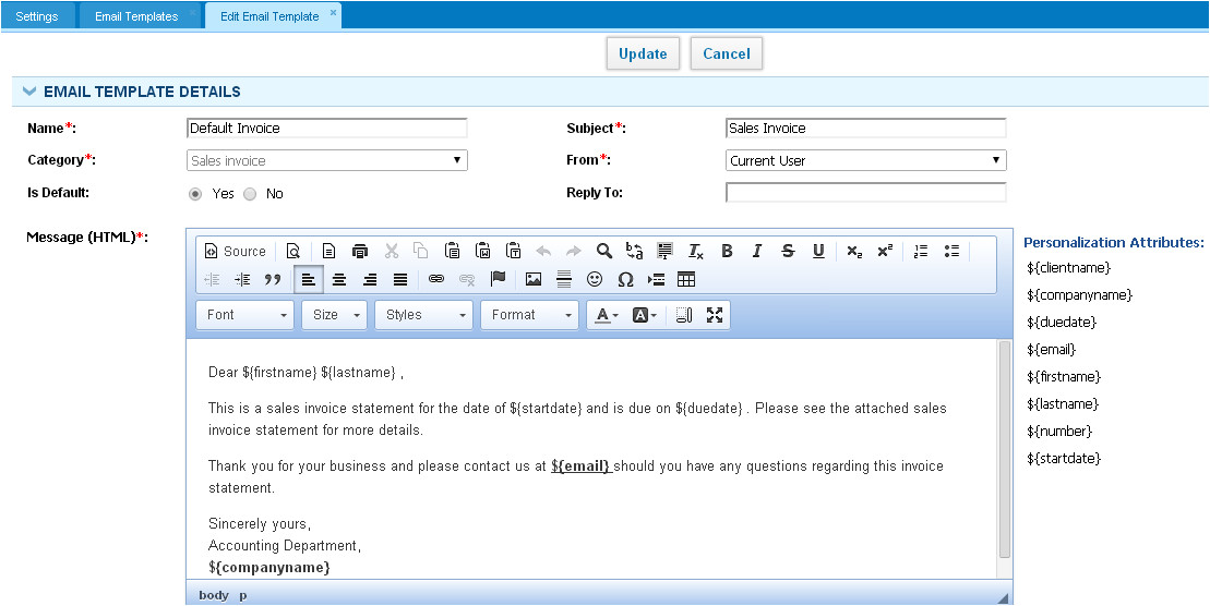 download free software timesheet reminder email template