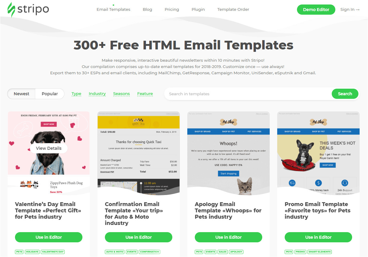 top best free email template builders