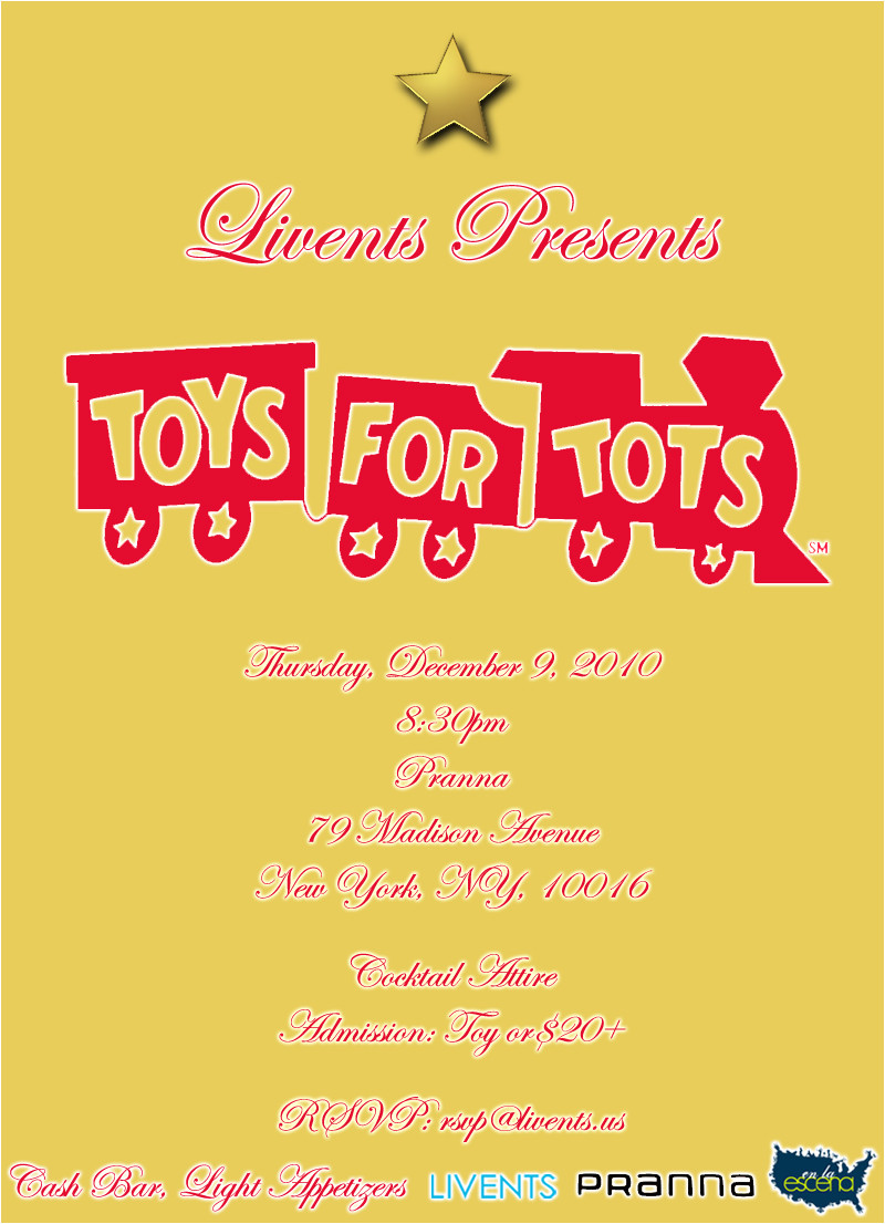 save date for toys for tots benefit