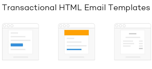transactional html email templates