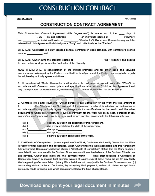 construction contracts everything you need to know