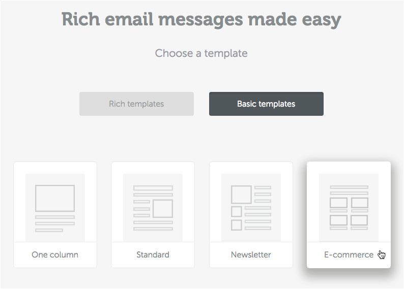 optimize multi column email design