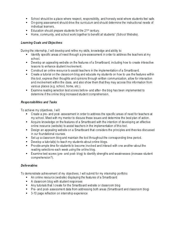 unpaid internship contract template