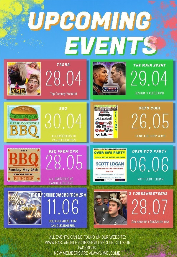 copy of kids upcoming events flyer template