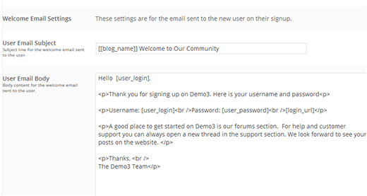 how to send a custom welcome email to new users in