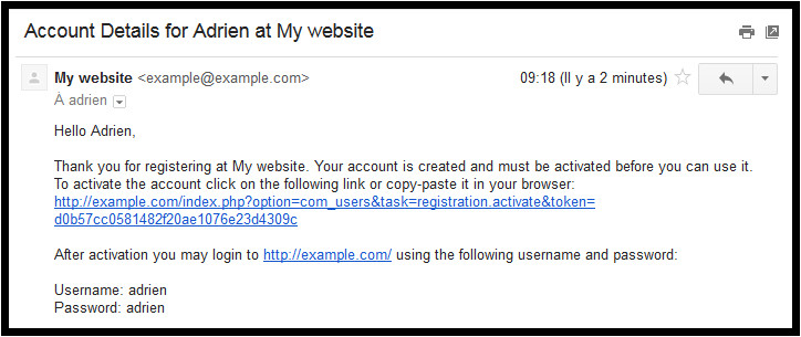 432 improve your joomla registration confirmation email