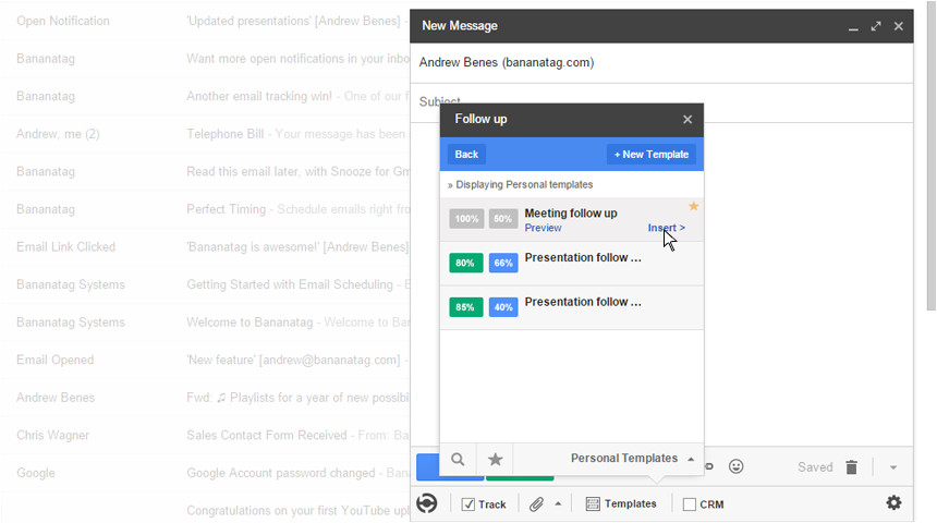 how to use email templates in gmail