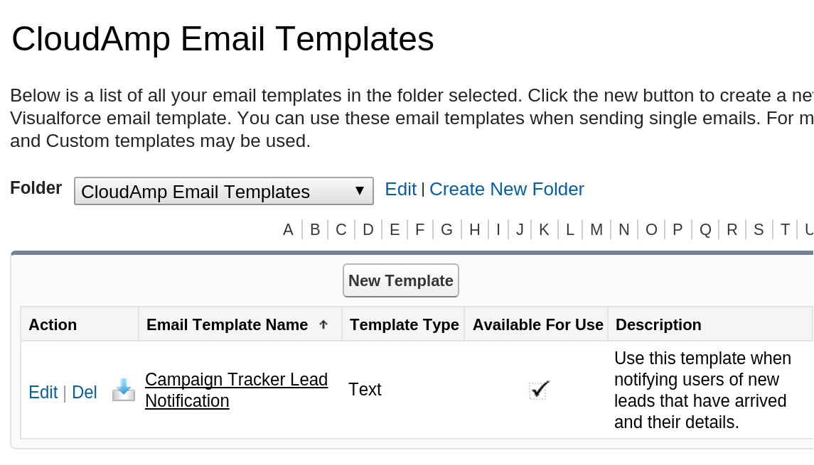 how to get a detailed email about every new lead in salesforce