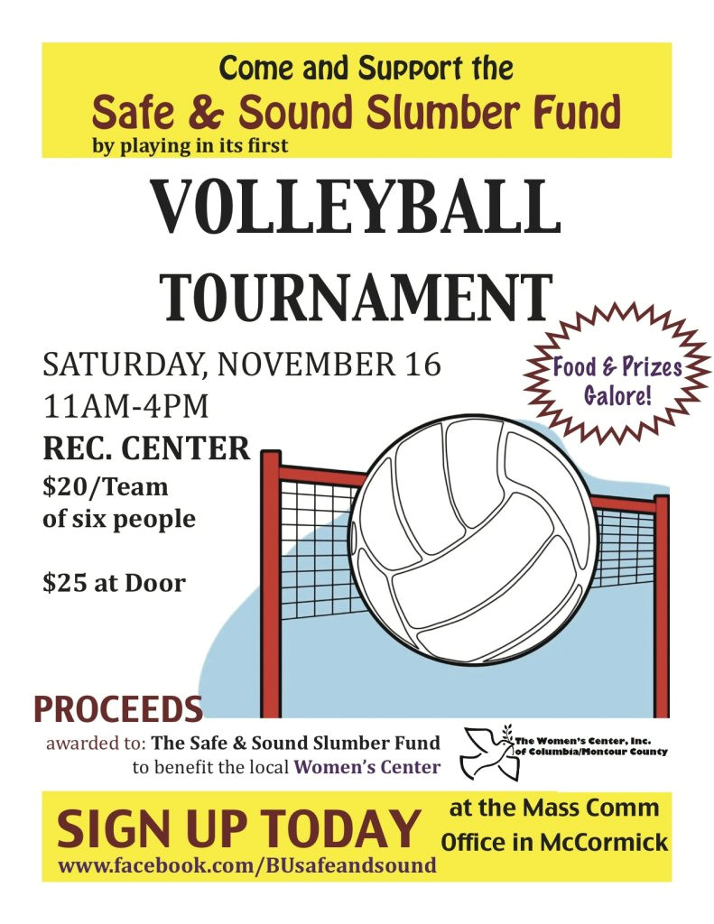 volleyball tournament flyer 2