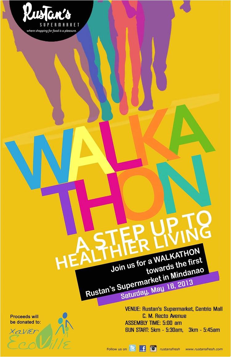 join rustans walkathon in cagayan de