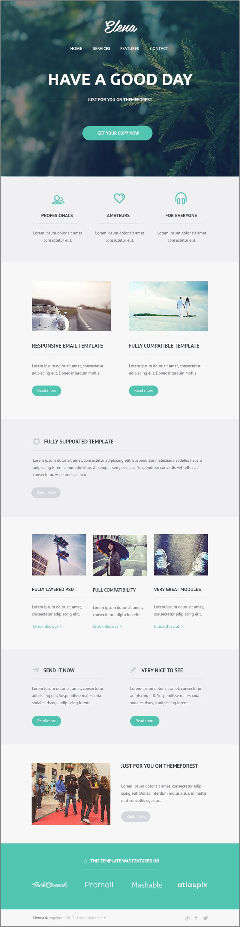 Web Design Email Marketing Templates Free Email Newsletter Templates Psd Css Author