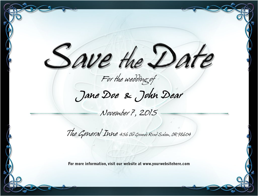 wedding save the date template 1 525494637