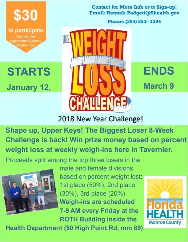 biggest loser returns to the upper keys