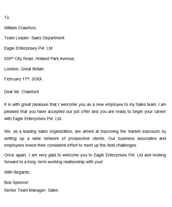Welcome Email Template for New Client Sample Welcome Letter 6 Documents In Doc