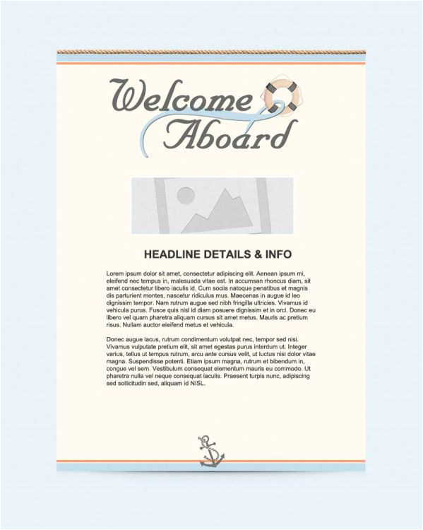 Welcome On Board Email Template Welcome Email Marketing Templates Welcome Email Templates