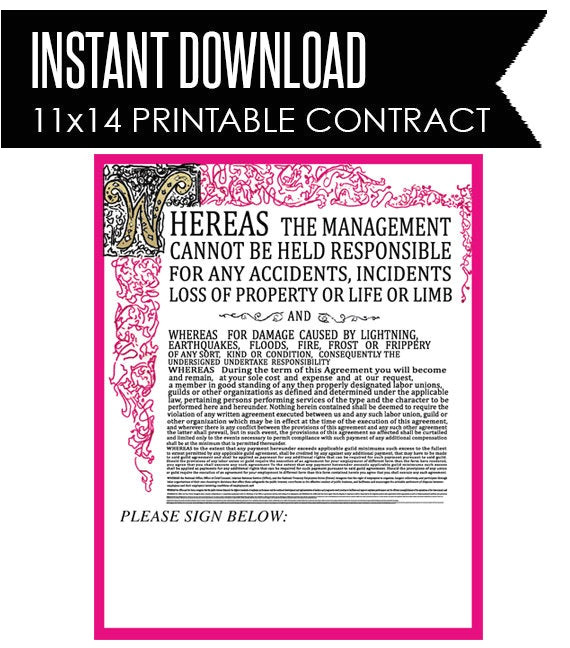 willy wonka inspired contract instant