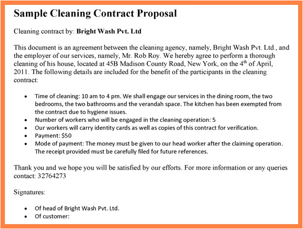 janitorial service agreement perfect window cleaning contract template pertamini ye x4919