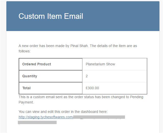 create custom email templates woocommerce