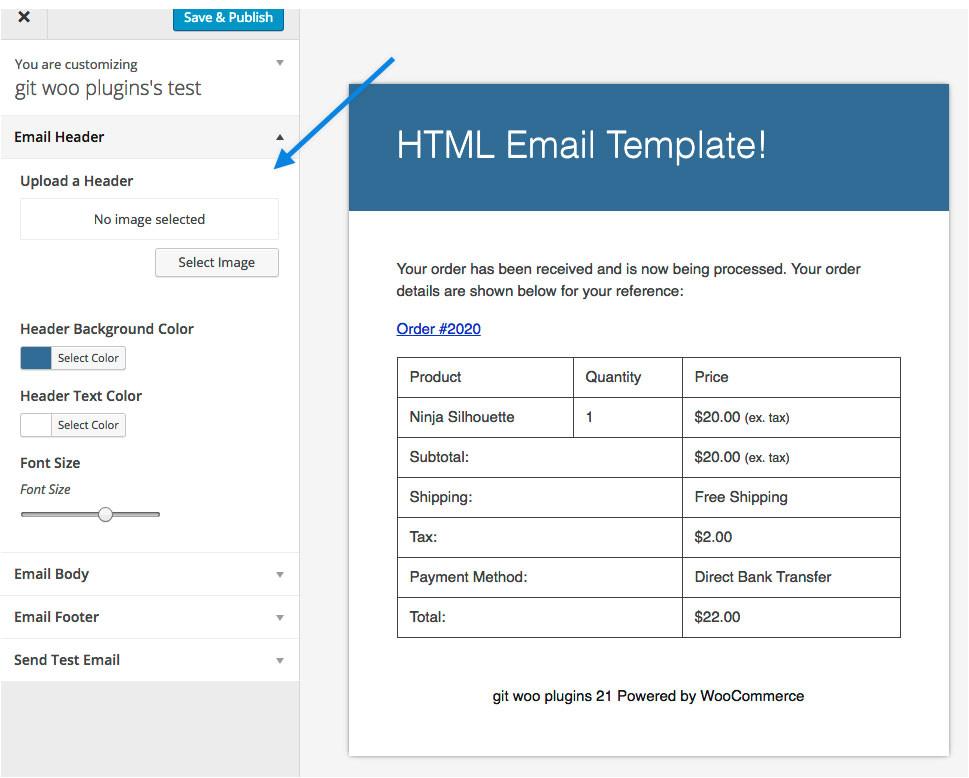 Woocommerce Custom Email Templates Woocommerce Email Customizer Woocommerce