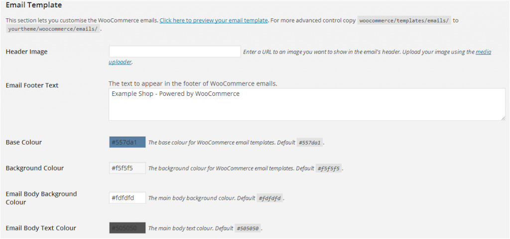 customize woocommerce order emails