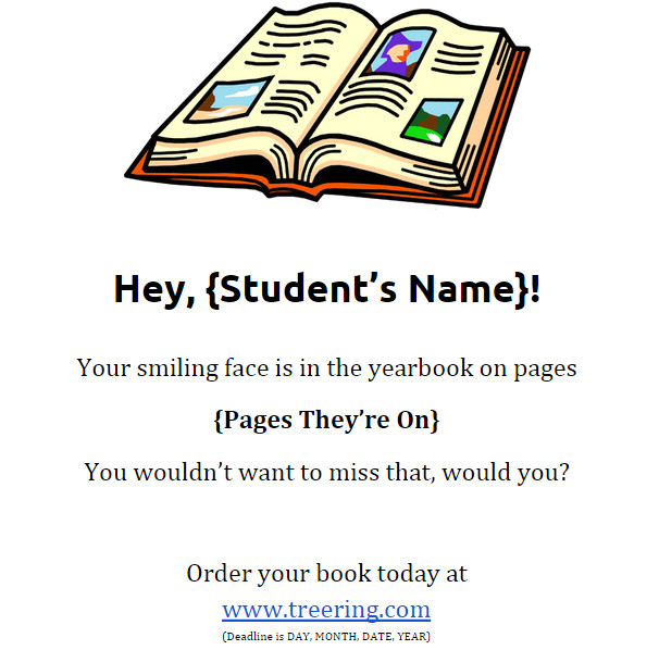 Yearbook Flyer Template the Only Yearbook Flyers You Need and they 39 Re Free