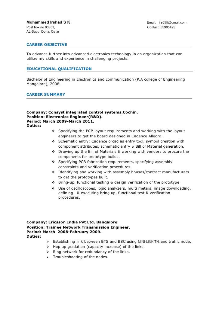 2 Years Experience Civil Engineer Resume Sample Resume format for 2 Years Experience In Testing