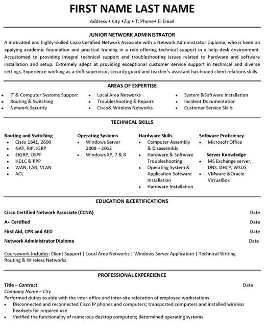 student resume samples