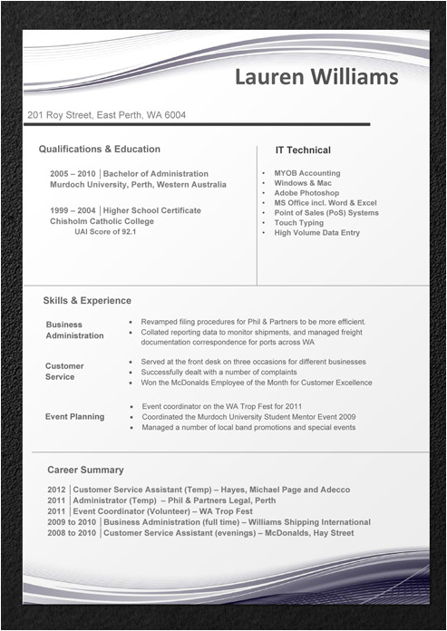 resume templates download 8