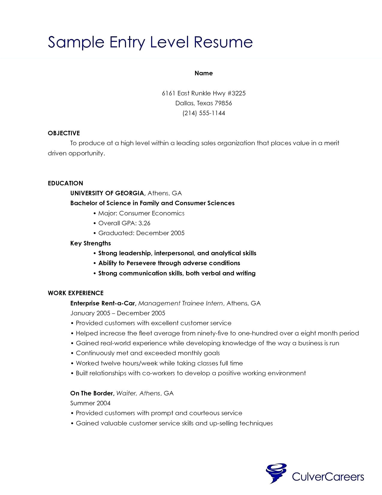50 entry level esthetician resume sample