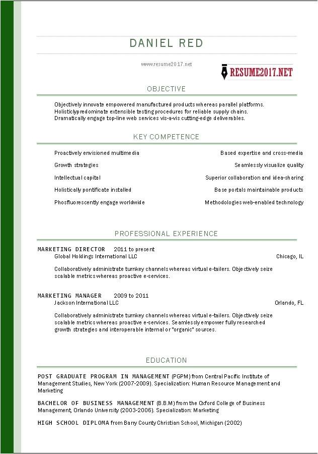 Basic Resume Examples 2018 Basic Resume Template Free 2018 World Of Reference