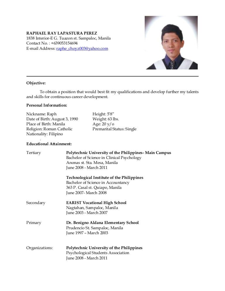 latest resume 8635501
