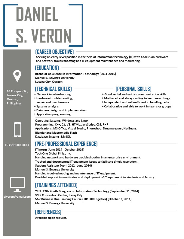 resume templates can download