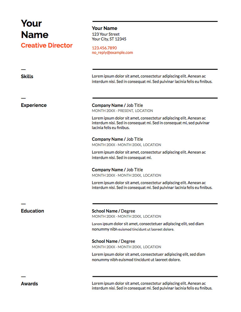 top google docs resume templates how to use them