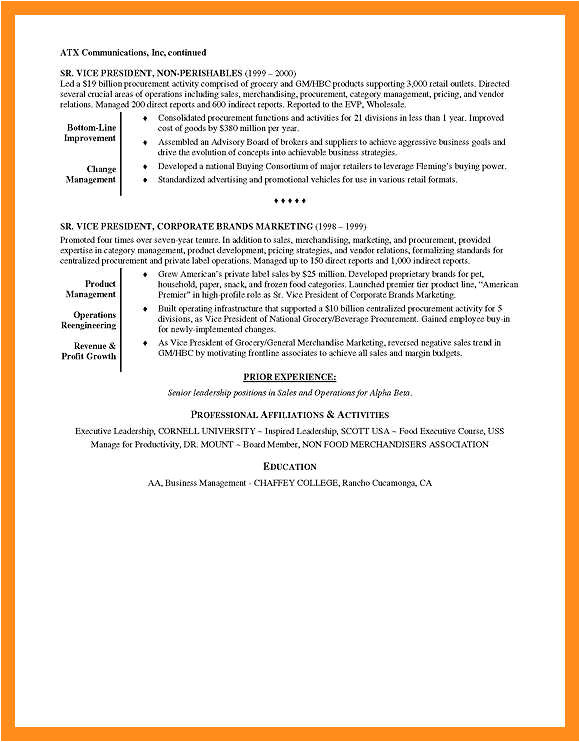 9 10 basic resume examples for retail jobs