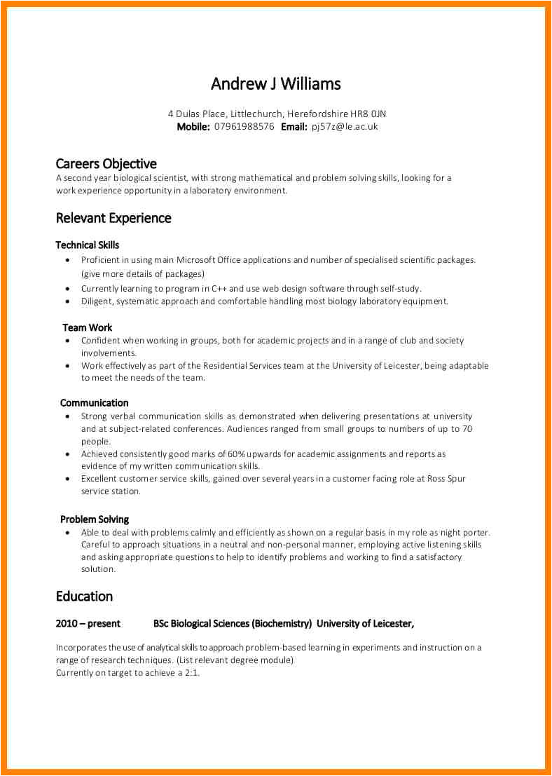 9 examples of skills on a resume