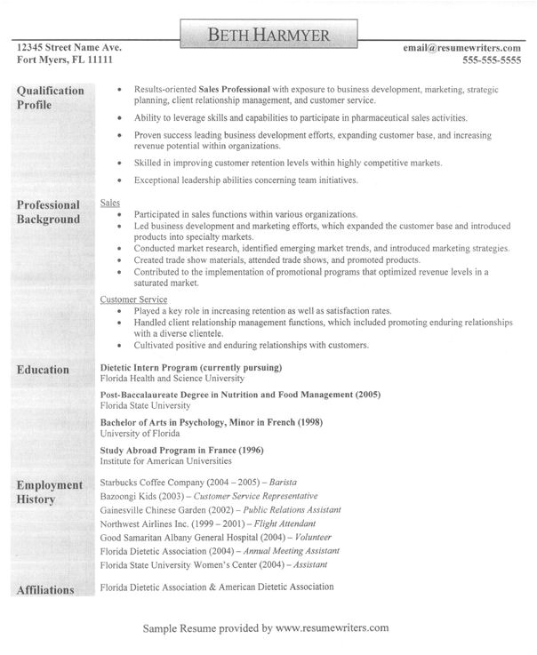 Best Basic Resume format 22 Best Basic Resume Images On Pinterest Cover Letter