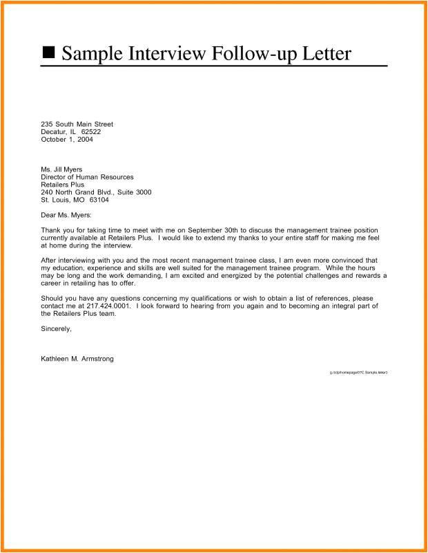Best Resume format for Job Interview Job Interview Follow Up Email Sample Interview Follow Up