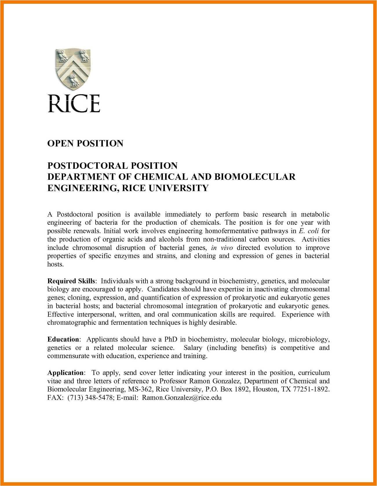 12 13 cover letter biochemistry student