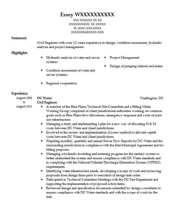 career objective for civil engineer resume