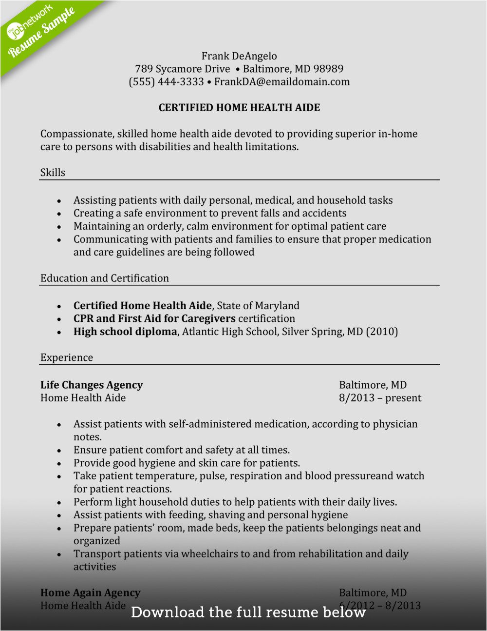 write perfect caregiver resume examples included 112016