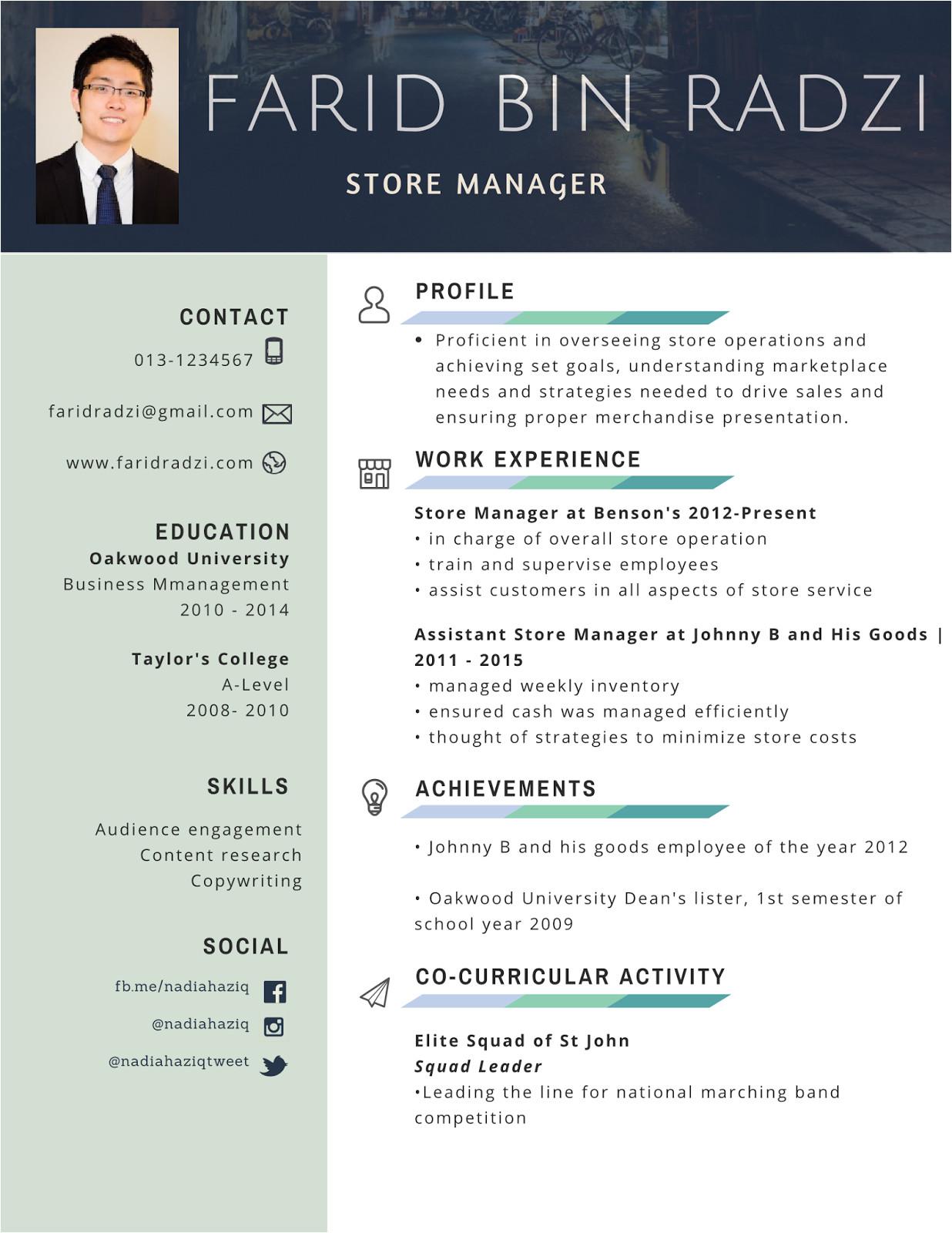 Contoh Resume Yang Profesional Contoh Resume Terbaik Lengkap Dan Terkini Mukah Pages