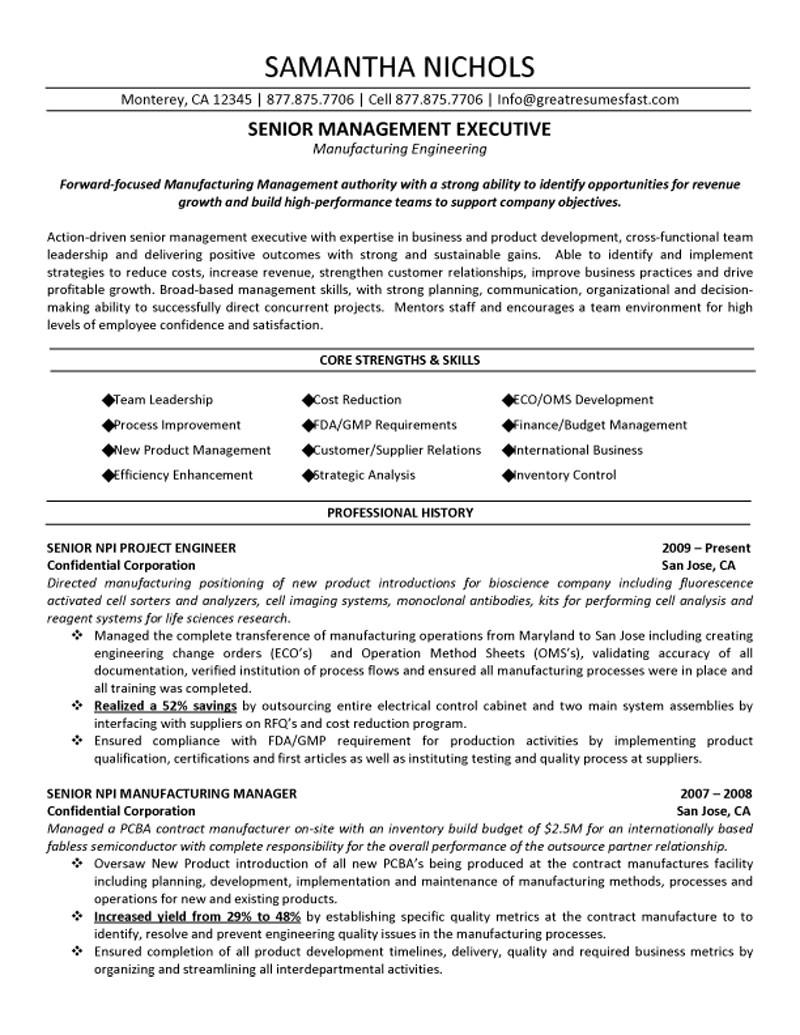 14 good engineering resume example